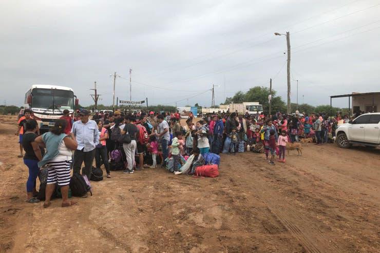 Miles de personas debieron ser evacuadas en Salta