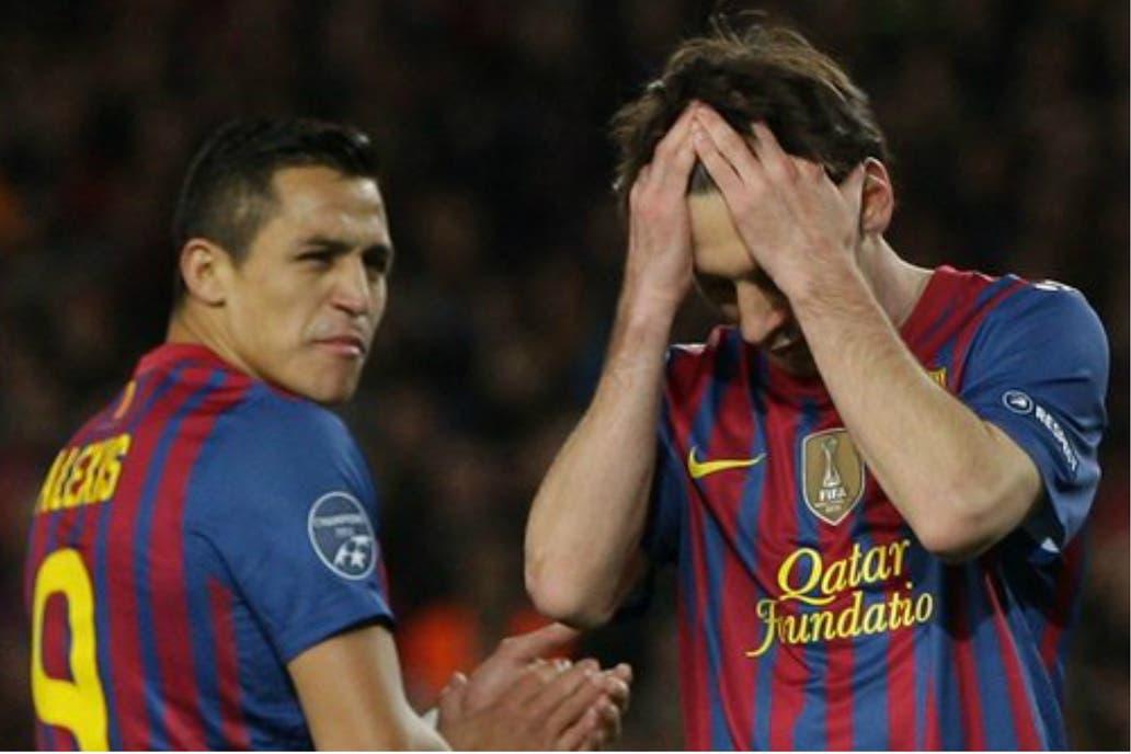 Alexis Sánchez recordó el día que vio llorar a Lionel Messi