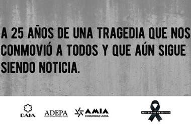 La campaña de Adepa sobre el aniversario del atentado a la sede de la AMIA