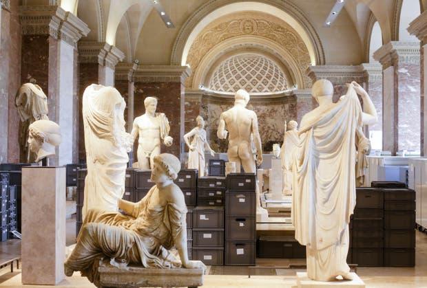 En julio último, el museo parisino debió evacuar una parte de su colección tras una serie de lluvias torrenciales y el desborde del Sena