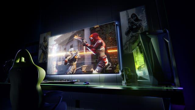 Cómo podría ser un monitor de 65 pulgadas para videojuegos, según Nvidia