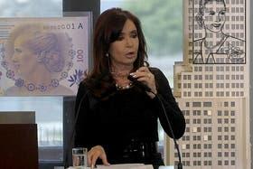 Cristina Kirchner cuestionó a los productores que no venden la soja