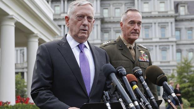 El secretario de Defensa estadounidense reiteró las amenazas contra Corea del Norte