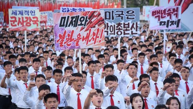Corea del Norte acusó a Estados Unidos de declarar la guerra