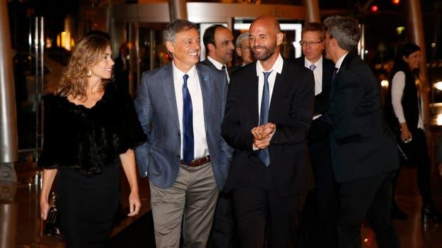 El ministro de Producción, Francisco Cabrera, junto al ministro de Transporte, Guillermo Dietrich. Foto: Fabián Marelli