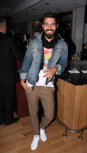 Benjamín Alfonso muy canchero en el Crystal Bar. Foto: Archivo / Gentileza HSBC