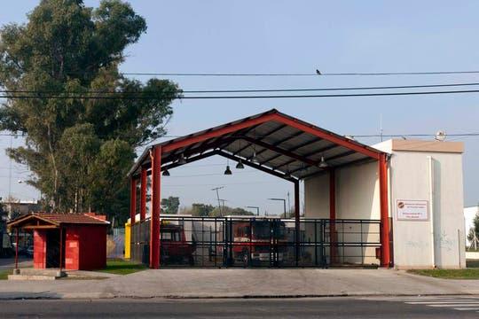 El cuartel de bomberos construido en 2011 en Tecnópolis. Foto: LA NACION / Guadalupe Aizaga