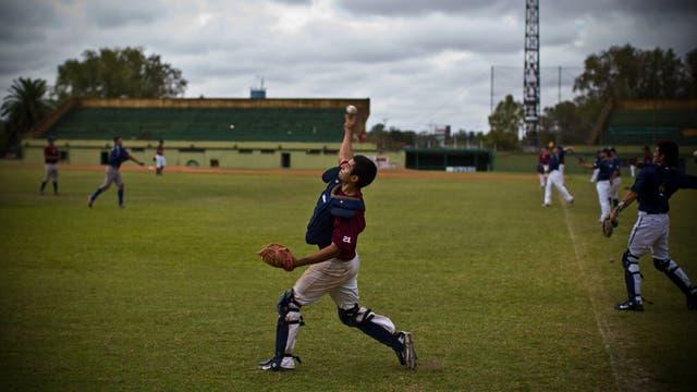 Entrenamiento de la Selección Argentina de Beisbol. Foto: LA NACION / Aníbal Greco