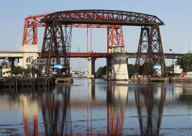 Obras realizadas en el puente Avellaneda, bajo sospecha