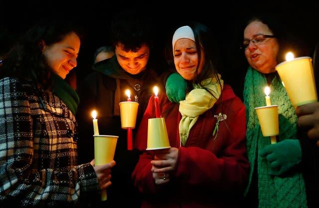 La familia de Soto realizó una vigilia por su muerte