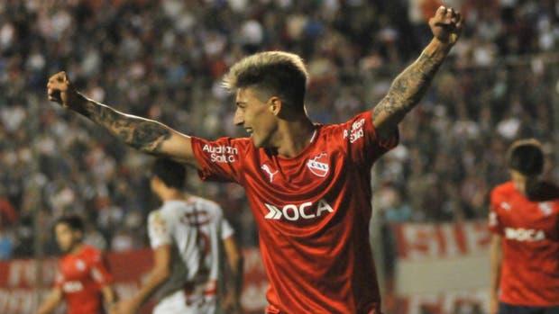 Emiliano Rigoni volvió a los entrenamientos