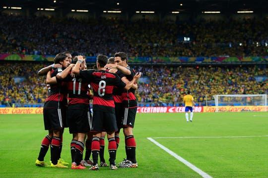 7 a 1 a Brasil, en su casa. Foto: AFP