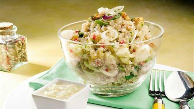 Recetas caseras: ensalada de pastas y legumbres