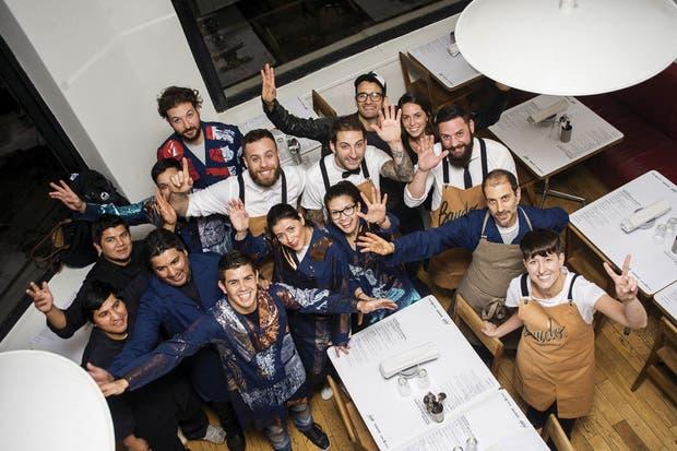 Bardo, el grupo que hizo realidad el sueño de la barra rodante