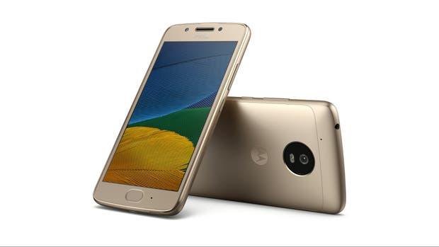 El Moto G5 tiene una pantalla de 5 pulgadas y un procesador de 8 núcleos