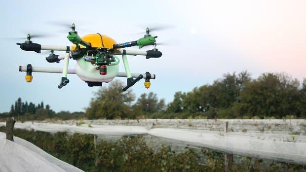 El drone diseñado por Sequeiros y Bollati