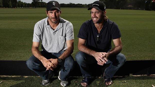 Adolfo Cambiaso y Facundo Pieres, los dos mejores jugadores del mundo, juntos