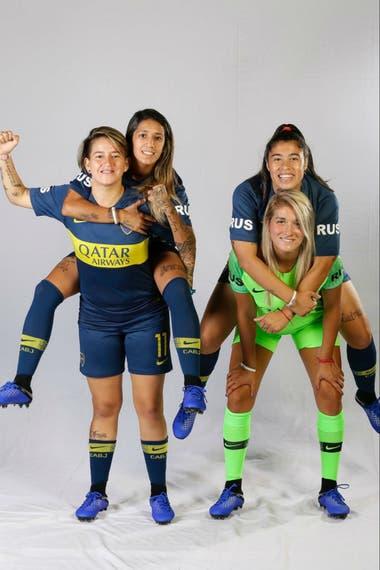 El equipo de Boca