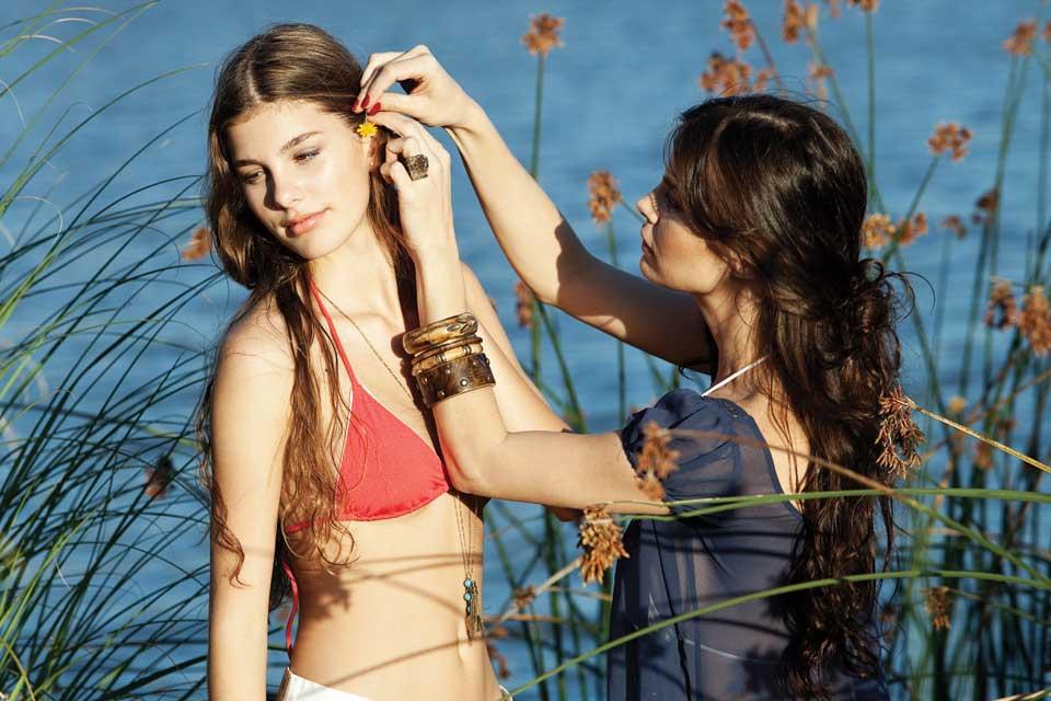 Lucila Polak disfrutó de unas relajadas vacaciones junto a su hija, Camila. Foto: /Paul Roger