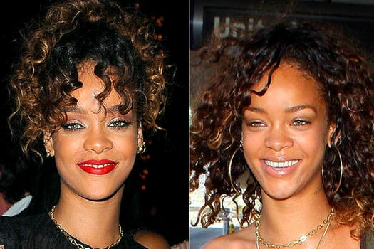 Rihanna. ¿Te sigue pareciendo sexy sin make up?. Foto: Archivo