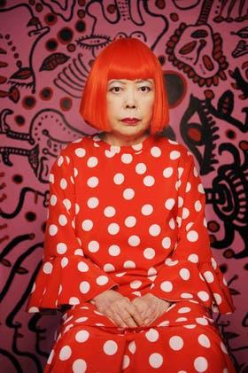 La japonesa Yayoi Kusama presentará una retrospectiva en Malba