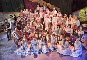 El Grupo Catalinas Sur, un emblema del teatro comunitario con 30 años de vida
