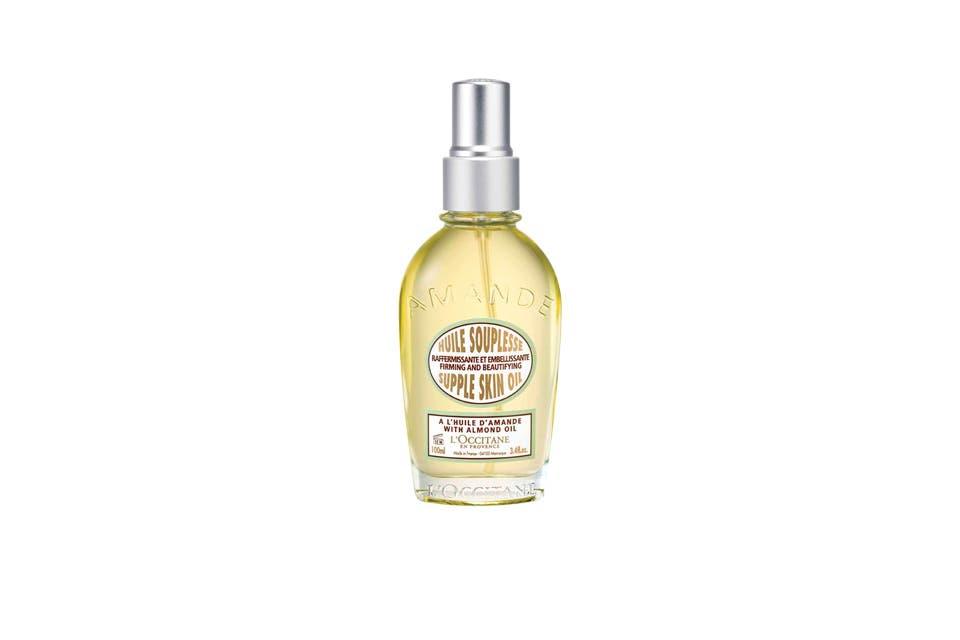 Con aceite de almendra, rico en Omega 6 y en aceite de melina ($605, L'Occitane).