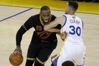 Cleveland-Golden State: un partidazo de LeBron James para que la final de la NBA tenga otro capítulo