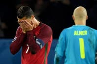 La peor noche para Cristiano Ronaldo: mirá el penal que erró y cómo lo burlaron los hinchas austríacos con Messi