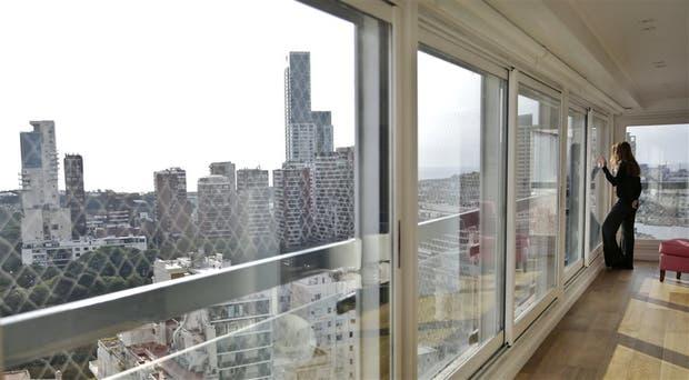 Vistas privilegiadas, una de las principales ventajas de las torres, como las de Seguí y Ugarteche
