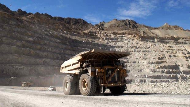 El complejo minero Alumbrera