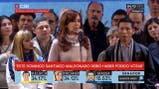 Cristina Kirchner pidió por Santiago Maldonado y Milagro Sala - Fuente: C5N