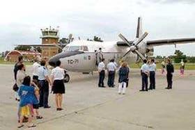 El aeródromo recuperó sus funciones turísticas a partir de ayer