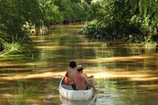 Un lugar para disfrutar de la naturaleza y de los días de calor al aire libre. Foto: Gentileza www.vivitigre.gov.ar