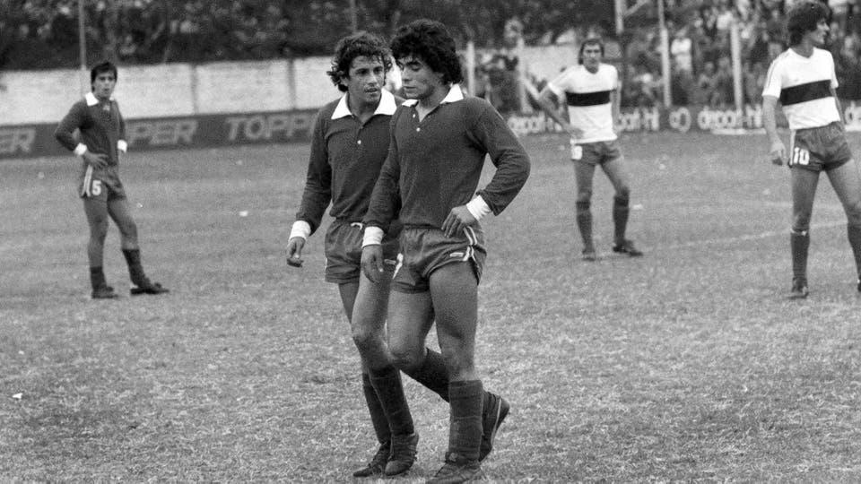 29-4-1979: triunfo por 3 a 0 ante Gimnasia en La Paternal. Foto: LA NACION