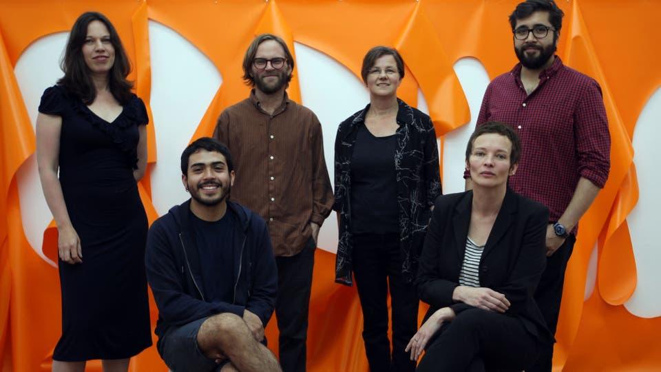De izq. a der.: Linda Neilson, Samuel Lasso, Christian Newby, Kirsten Mosel, Julián León Camargo y Sylvie Argerich