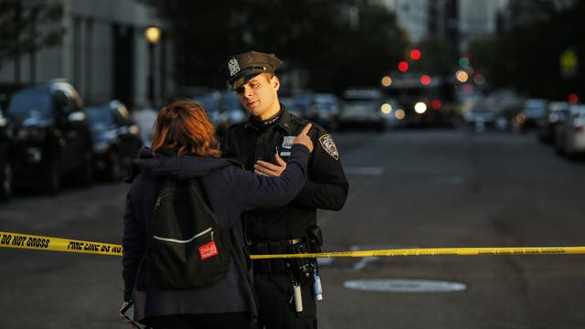 Alarma en Manhattan por un automovilista que atropelló a varias personas. Foto: AFP / Kena Betancur/Getty Images