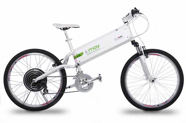 La bici E-MOV que ya está a la venta