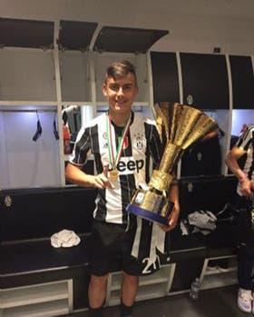 Dybala se consagró con Juventus