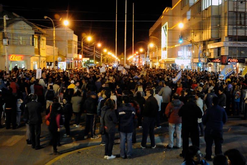 Río Gallegos, Santa Cruz. Foto: LA NACION / Horacio Córdoba
