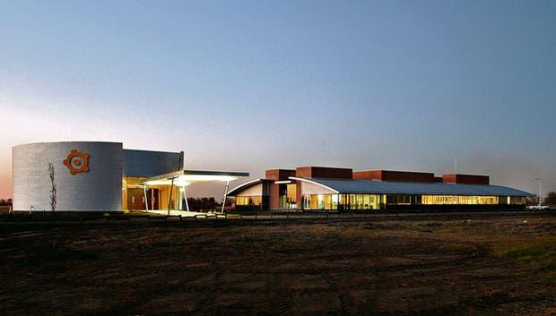 La sede de Los Grobo en Carlos Casares