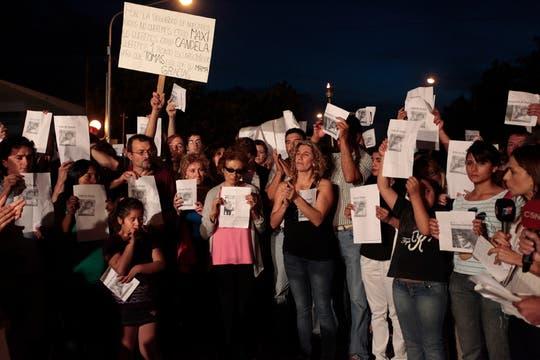 La desaparición del nene provocó una gran conmoción en la ciudad. Foto: LA NACION / Jorge Bosch