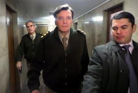 Milani, al ingresar en los tribunales de Tucumán, donde volvió a desmentir las denuncias en su contra