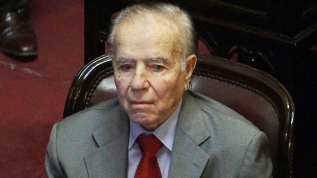 La Justicia impugnó la candidatura de Carlos Menem