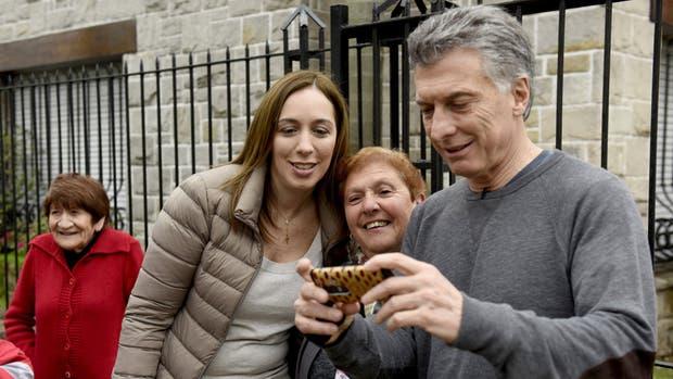 Macri acompañó a Vidal hasta la casa de los padres de la goberandora