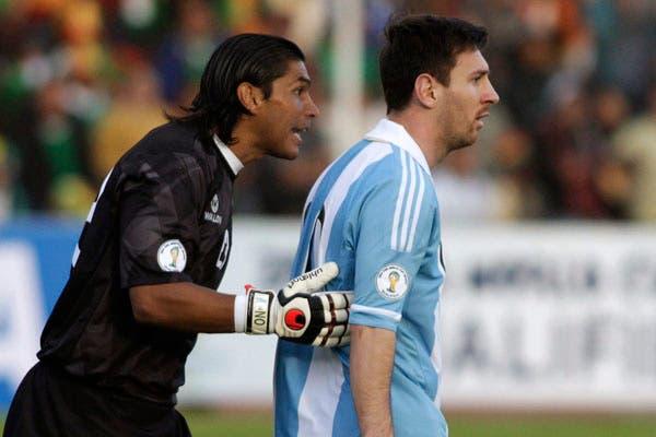 Galarza y su orgullo por haber evitado el gol de Messi