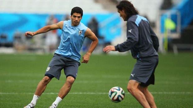 Suárez y Cavani estarán ante Argentina