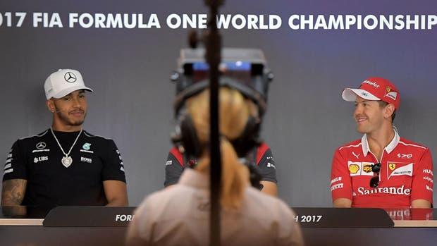 Hamilton y Vettel otra vez cara a cara