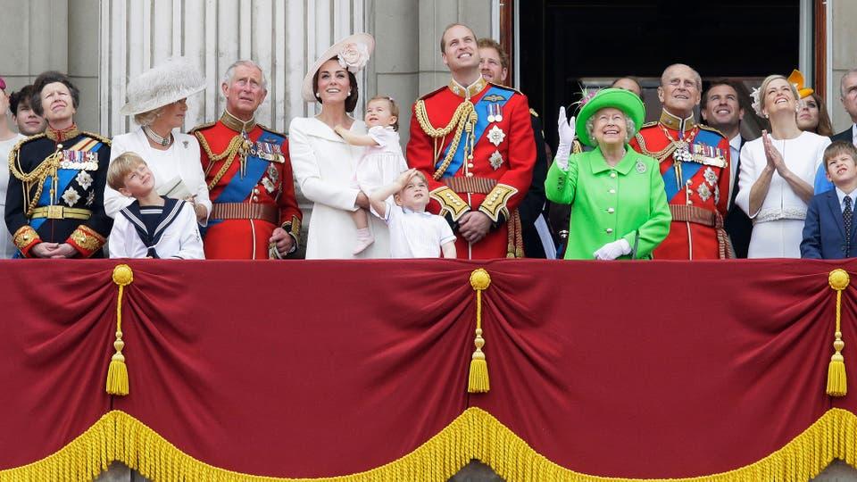 El 11 de junio de 2016 durante un desfile en el Palacio de Buckingham. Foto: AP