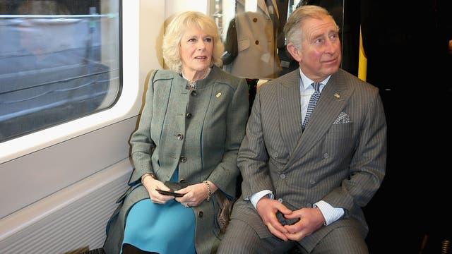 Viajando en tren en enero de 2013
